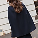 Wool Cashmere Single Breasted Cape image