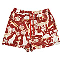 Short Safari Pyjamas in Protea Red image