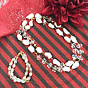Freshwater Pearls With White Quartz & Crystal Multi-Way Necklace image