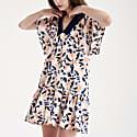 Camile Flutter Dress Peach Breeze image
