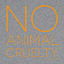 No Animal Cruelty T-Shirt Grey image