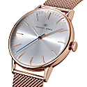 August Berg Serenity Rosegold Classic Simply - Rosegold Mesh 40mm image