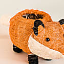 Coco Coir Animal Planter - Baby Fox image