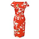 Olympia Dress Oriental Print image