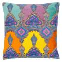 Color Explosion Silk Velvet & Cotton Cushion  image