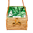 Sophia Bag Palm Leaf image
