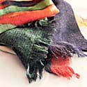 Season Of Fall Wool Scarf image