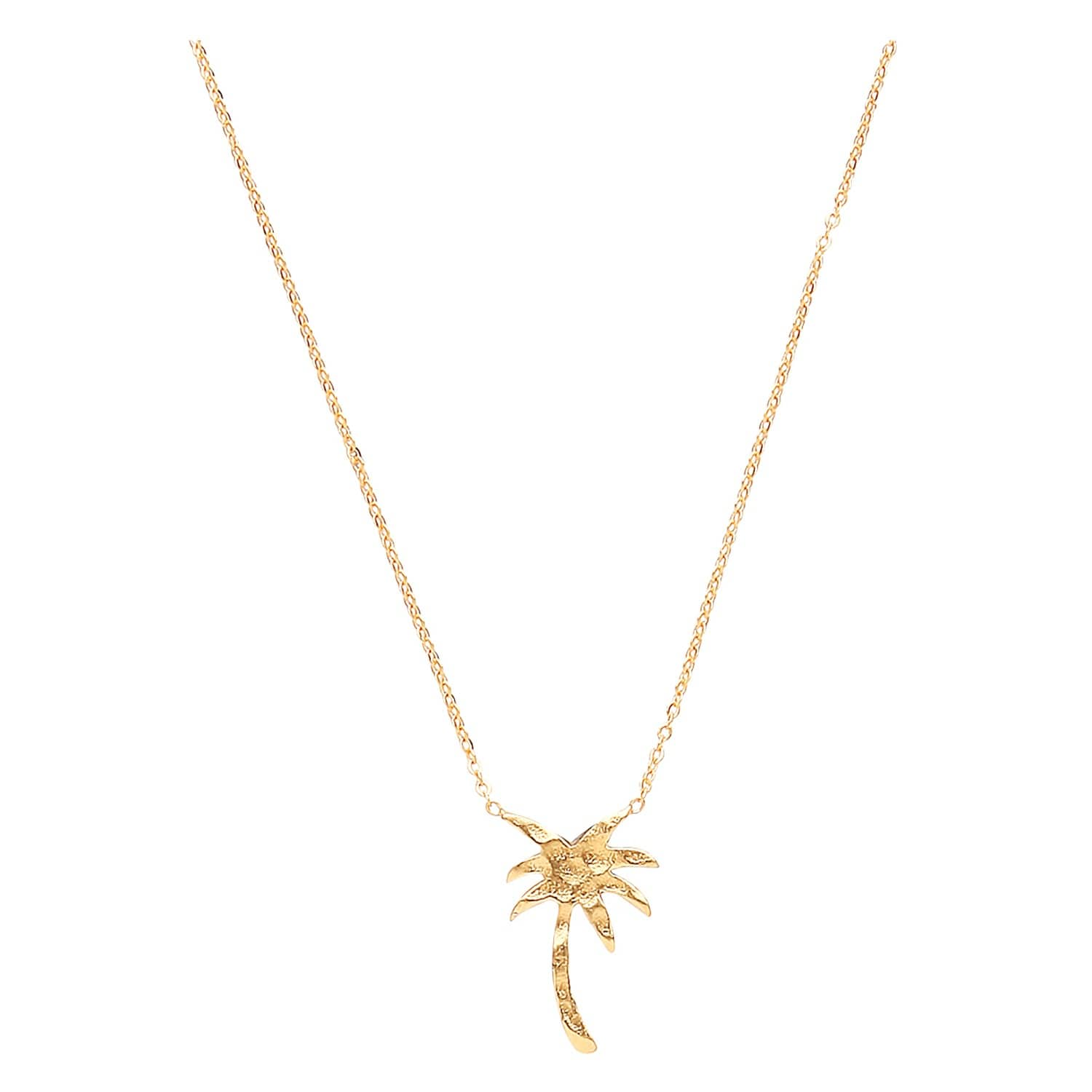 lisa chevron small jewellery gold angel necklace