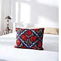 Halicarnassus Caria Suzani Ikat Double Sided Heritage Design Cushion image