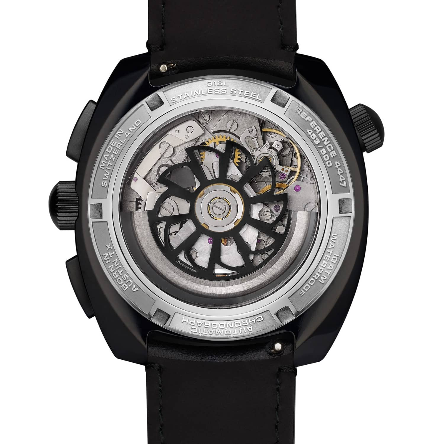 minus blackblack watches metal layer black products pvd