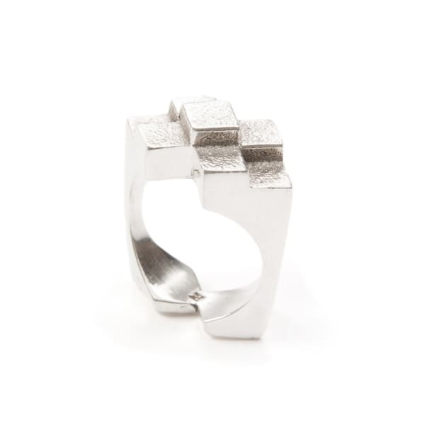Original Icon Ring Sterling Silver by Jewel Tree London
