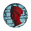 Wall Decor Plate Artemis Flowers image