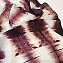 Purple Tie Dye Silk Scarf image