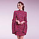 Red Tweed Dress image