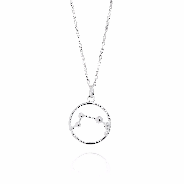 Aries Astrology Necklace Yasmin Everley Jewellery Wolf Badger