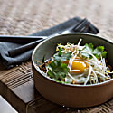 Nafan Ceramic Noodle Bowl - Dove Green image