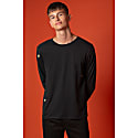 Bee Embroidered Long Sleeved Top Black Men image