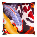Koi Ii Large Velvet Floor Cushion Cover Style Two image