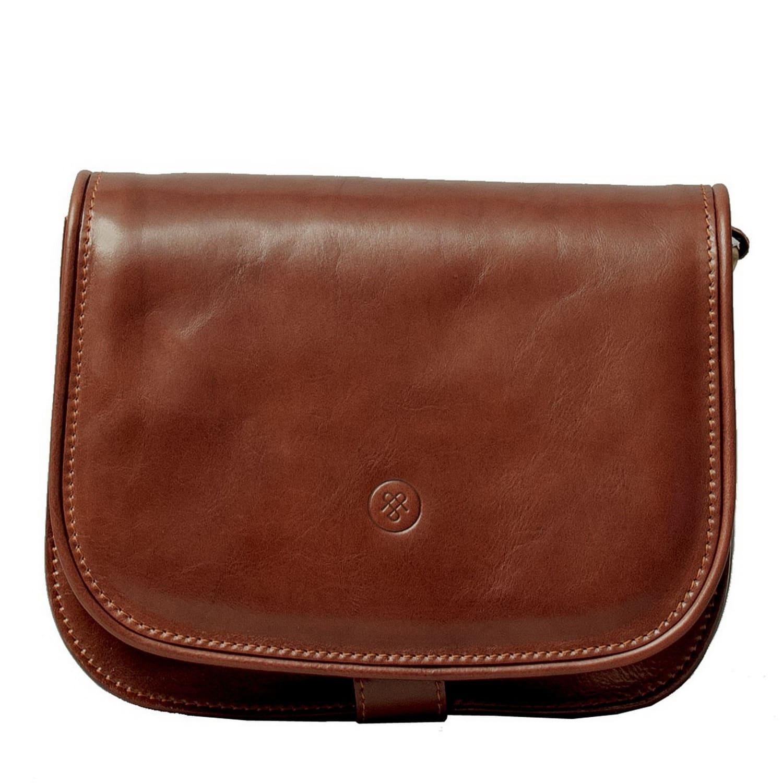 Luxury Italian Leather Women s Saddlebag Purse Large Chestnut Tan ... d4b9c7bb41cf1