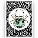 Mint Beetle Print image