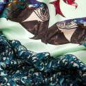 Hector Blue Silk Satin Scarf image