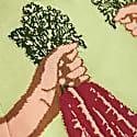 Karis Carrot Jacquard Sweater image