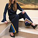 Liza Embroidered Wide-Legs Jeans image