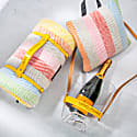 Pure New Wool Waterproof Picnic Blanket Rainbow image