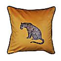 """""""The Leopard"""" Velvet Cushion image"""