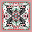 The Fuchsia & Flamingo Scarf image