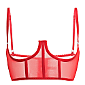 Iconic Open Bustier - Red image