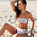 Loco Acapulco Reversible Bikini Set - Snake/White image