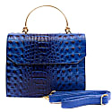 Thais Vegan Croc Mini Bag - Royal Cobalt image
