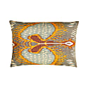 Artemis Sea Ikat Double Sided Heritage Design Cushion image