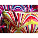 Luxury Yellow Velvet Cosmetic Bag image