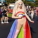 Pride Sparkler Hand Fan image