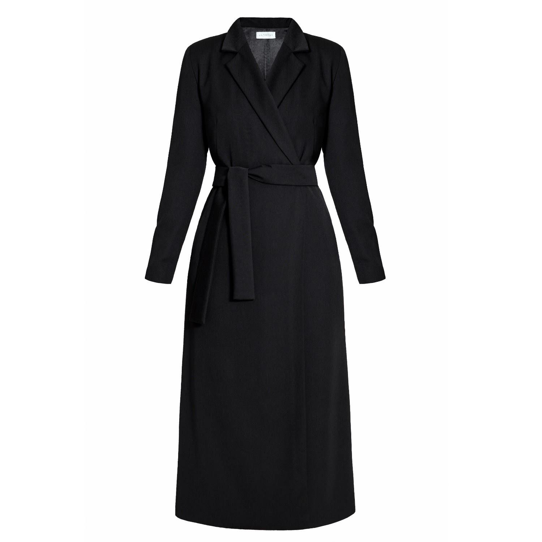 fd2146bbdda9 Myria Black Tailored Occasion Midi Blazer Dress | UNDRESS | Wolf ...