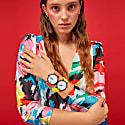 Ksana Neon Yellow Silicone Watch - 38mm image