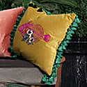 Fish Frida Velvet Cushion image