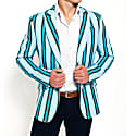 Blue Striped Blazer Luo image