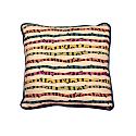 Color Stripes Linen Cushion image