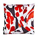 Koi I Style Two Red & White Velvet Cushion Cover image