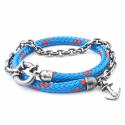 All Blue Barmouth Rope Bracelet  image