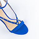 Bluette Suede Sandals With Rivets image