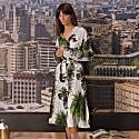 Plants Print Shirtdress image