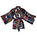 Viscose Kimono Wrap Top Massami image