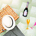 Pure New Wool Waterproof Picnic Blanket - Sherwood Forest image