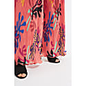 Maude Coral Pleated Print Trousers image