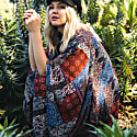 Janice Scarf Print Kimono image