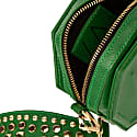 Donya Octagon Clutch - Green image